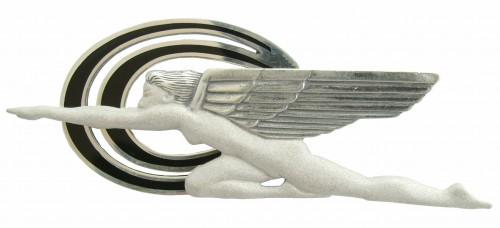 Art Deco Brosche im Stile von Harriett Frishmuth