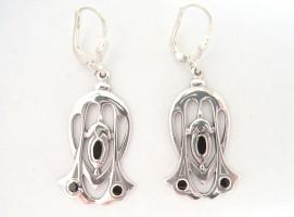 Ohrringe im Stile von Archibald Knox