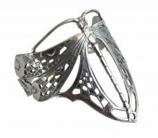 Jugendstil Armspange Libelle im Stile von Lalique