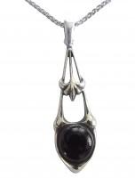 Halskette Damen 925 Silber Antik Stil