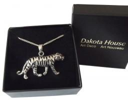 Unisex Halskette Tiger