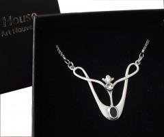 Collier Kette Halskette im Stile von Archibald Knox